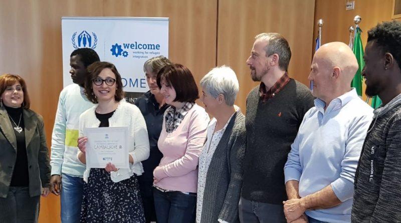 L'UNHCR premia Cambalache e il mondo apistico per l'impegno nella creazione di una società inclusiva
