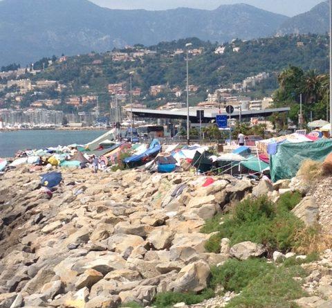 Sul confine blindato di Ventimiglia