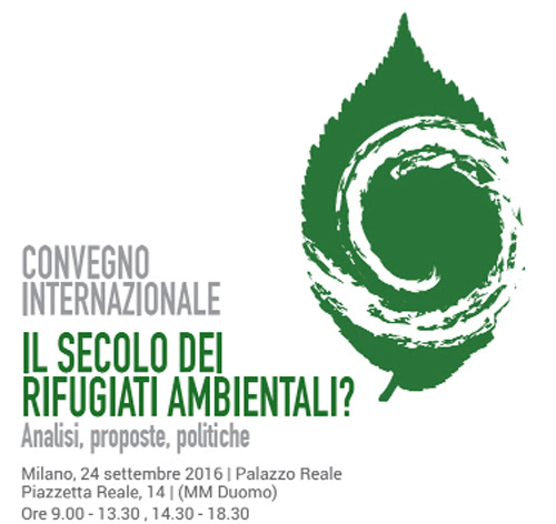 """""""Il secolo dei rifugiati ambientali?"""": APS Cambalache al convegno internazionale"""
