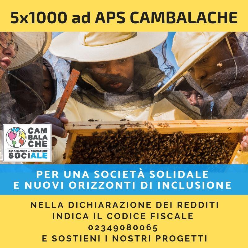Il 5×1000 a Cambalache: per una società solidale e nuovi orizzonti di inclusione