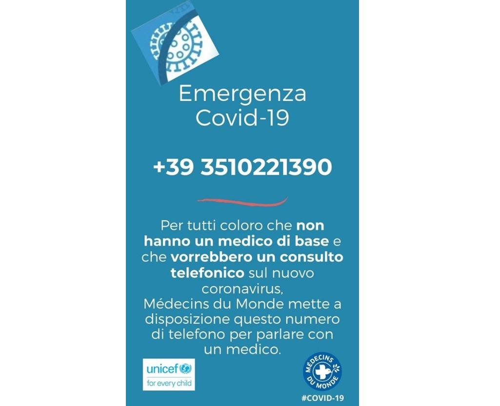 Il numero da chiamare per chi non ha un medico di base
