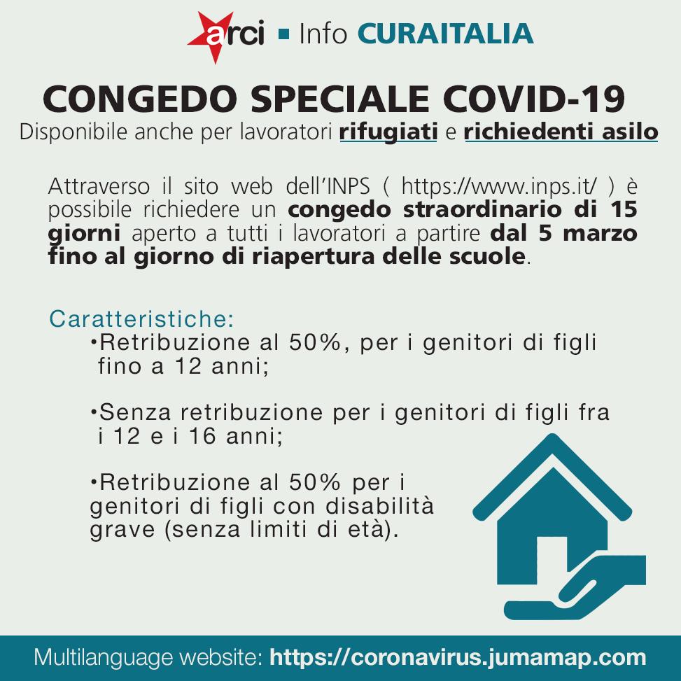 CORONAVIRUS. Congedo speciale Covid-19 possibile anche per genitori rifugiati e richiedenti asilo