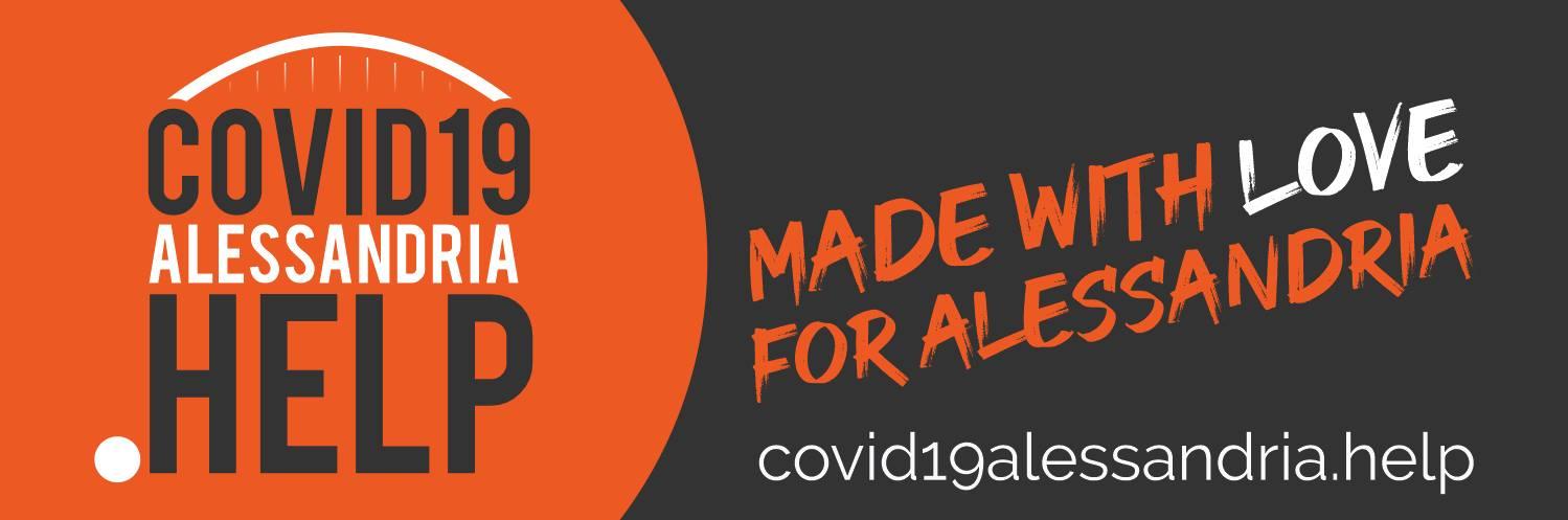CORONAVIRUS. Nasce Covid19Alessandria.help per condividere info utili durante l'emergenza