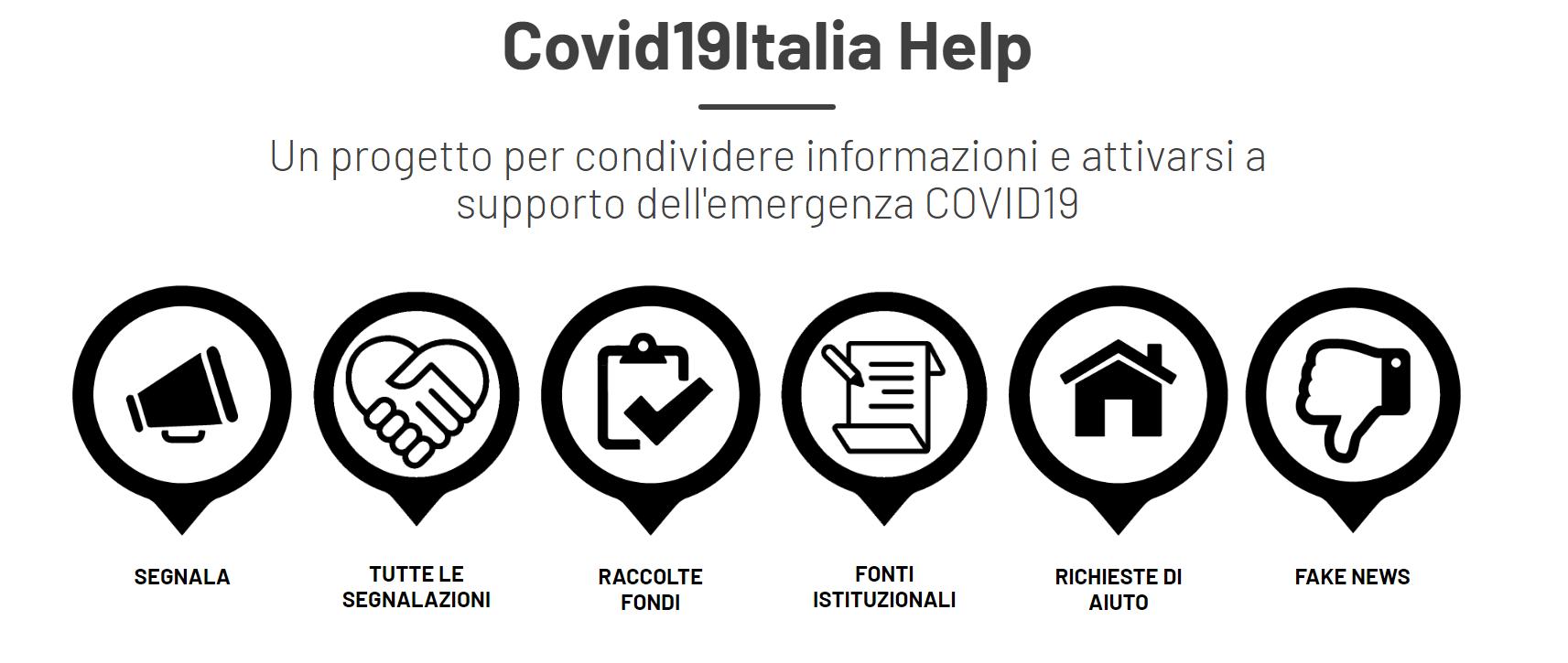 CORONAVIRUS. Le attività solidali rivolte ai migranti di tutta Italia sul portale Covid19Italia.help