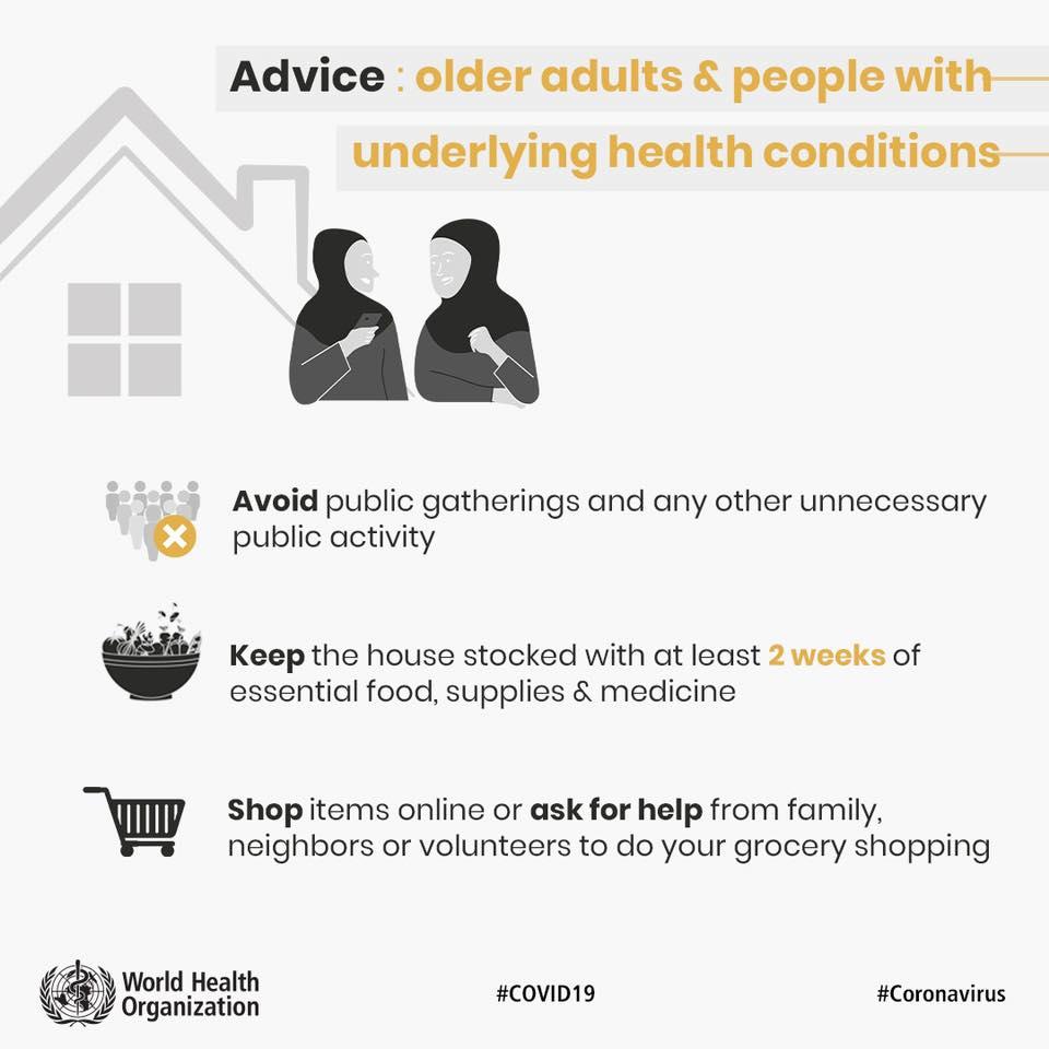 CORONAVIRUS. L'OMS ribadisce l'importanza della distanza fisica per prevenire il contagio