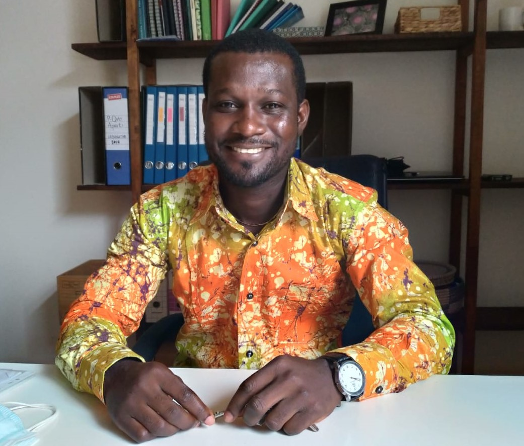 Gibson Mawuli Mlorfe – studente dell'Università  di Scienze Gastronomiche di Pollenzo