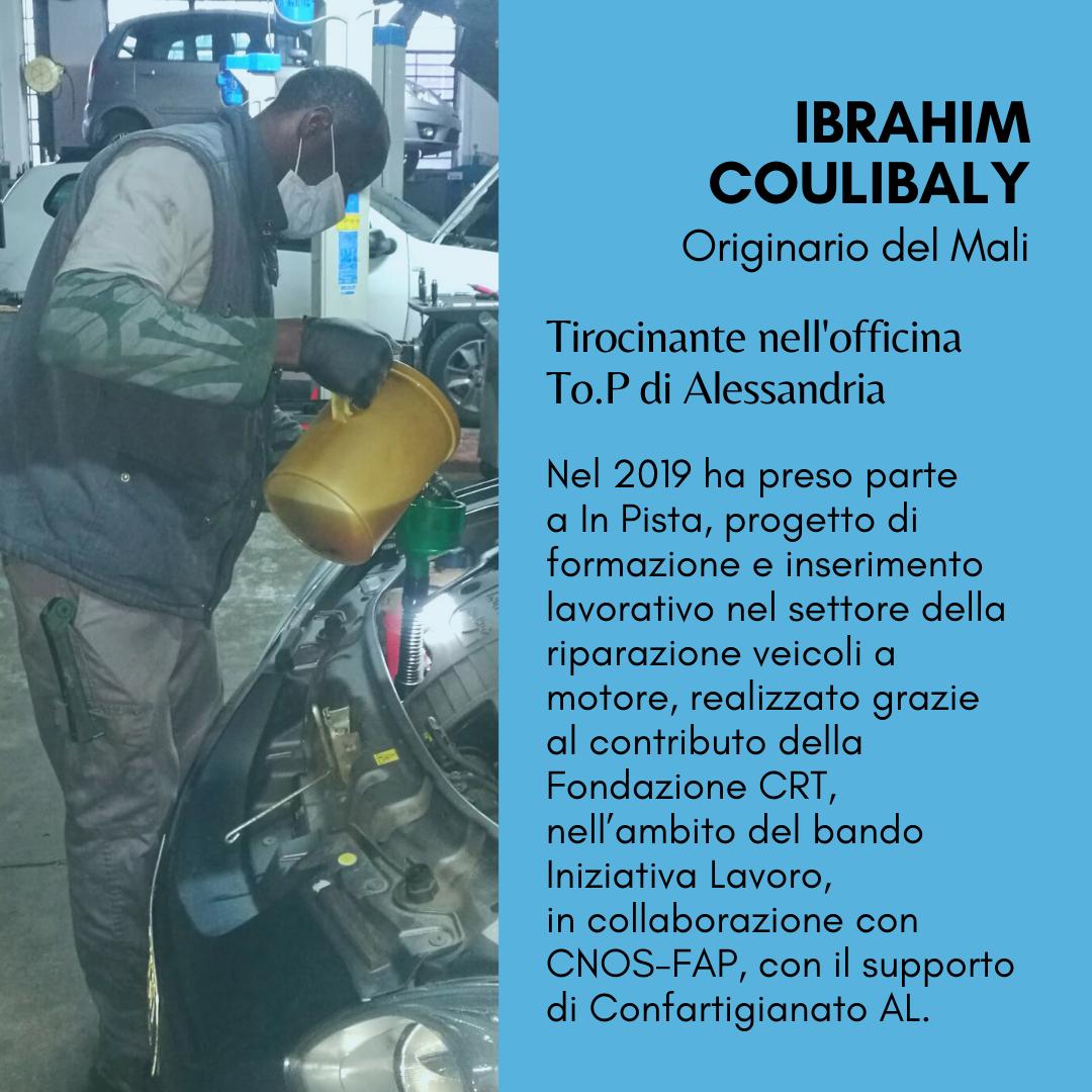 Ibrahim dal Mali ad Alessandria: un futuro nelle riparazioni auto