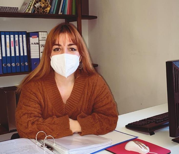Myriam Cinefra – Volontaria del Servizio Civile nell'anno 2020