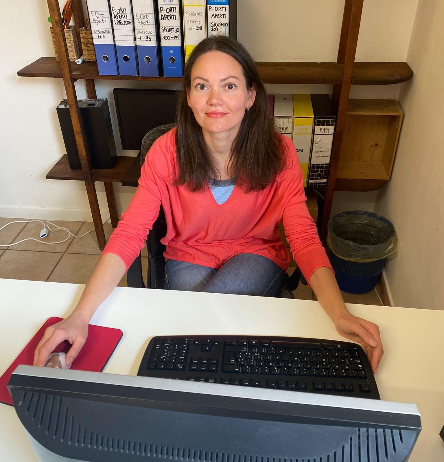 Anastasiya Moiseeva – Stagista del corso per Mediatrice interculturale dell'Enaip