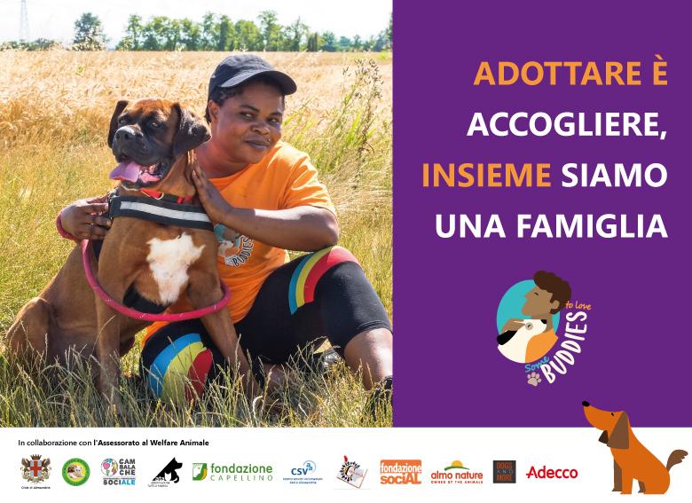 Adottare è accogliere – I nuovi dog sitter di Buddies per una campagna di sensibilizzazione